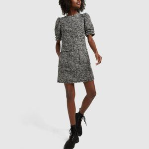 G. Label Goop Marina Tweed Dress Size 2